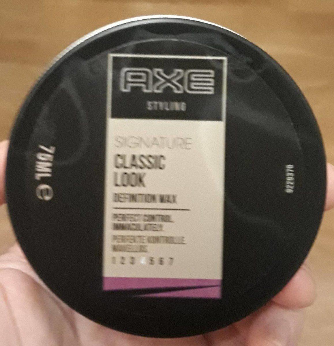 Axe Signature Pommade Hair Wax - Product
