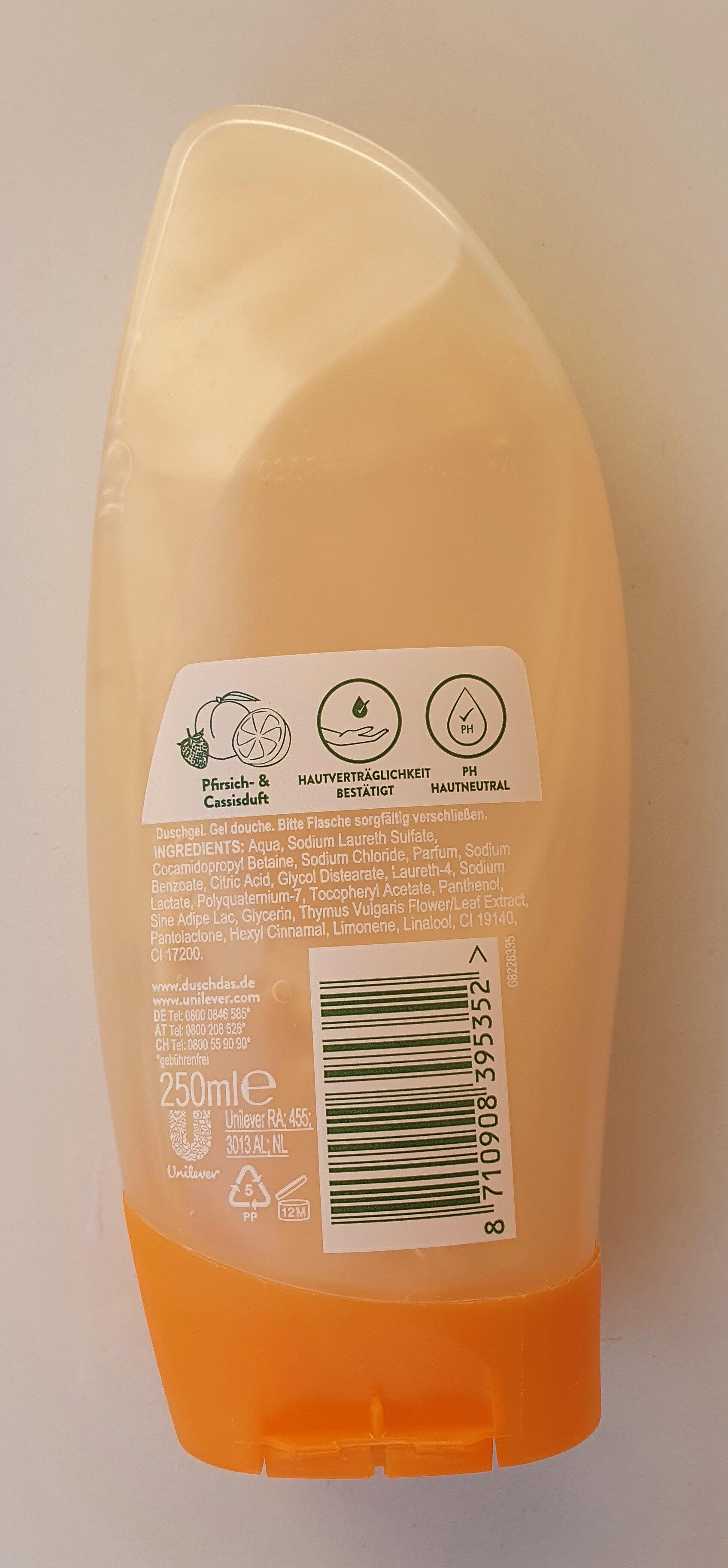 ICH FÜHLE MICH VITALISIERT mit verwöhnend fruchtigem Duft - Product - en