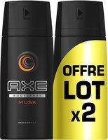 AXE Déodorant Homme Spray Musk 150ml Lot de 2 - Product - fr