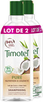 Timotei Pure Shampoing Cheveux Normaux Lait de Coco Aloe Vera - Product - fr