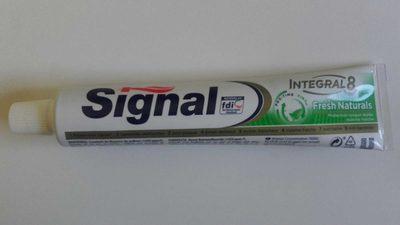 Signal Dentifrice Antibactérien Fresh Naturals Protection 18H Haleine Fraîche - Product - fr
