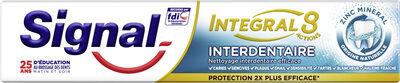 Signal Dentifrice Antibactérien Interdentaire Integral 8 - Produit - fr