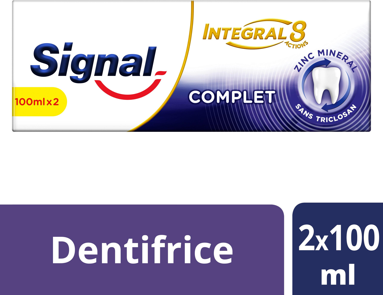 Signal Intégral 8 Dentifrice Complet Bitube - Produit - fr