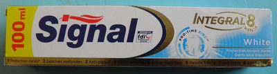 Signal Dentifrice Blancheur White Integral 8 - Product - fr