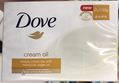 Cream Oil Beauty Cream Bar with Morrocan Argan Oil - Produit