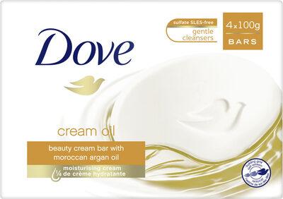 Dove Savon Pain de Toilette Soin et Huile Surgras - Product - fr