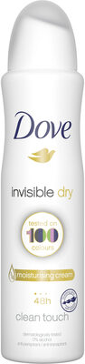 Dove Déodorant Femme Spray Anti Transpirant Invisible Dry - Product - fr