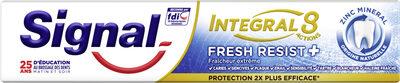 Signal Dentifrice Antibactérien Fresh Resist Plus 18H Protection - Produit