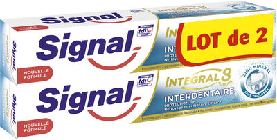 Signal Dentifrice Integral 8 Interdentaire 75ml Lot de 2 - Product - fr