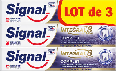 Signal Dentifrice Complet Tube 3x75ml - Product - fr