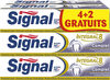 Signal Integral 8 Dentifrice Complet Tube Lot 4+2 Offerts x 75ml - Product
