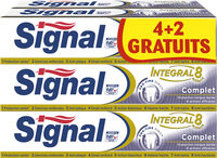 Signal Integral 8 Dentifrice Complet Tube Lot 4+2 Offerts x 75ml - Product - fr