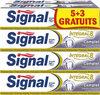 Signal Intégral 8 Dentifrice Complet Tube 75ml Lot de 8(5+3 Gratuits) - Produit