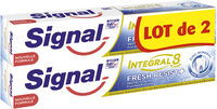 Signal Intégral 8 Dentifrice Fresh Resist Plus Tube Lot de - Product - fr