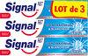 Signal Dentifrice Soin Fraîcheur & Blancheur Crystal Gel 3x75ml - Produto