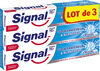 Signal Dentifrice Soin Fraîcheur & Blancheur Crystal Gel 75ml Lot de 3 - Product