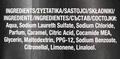 You Bodywash XL - Ingredients - fr