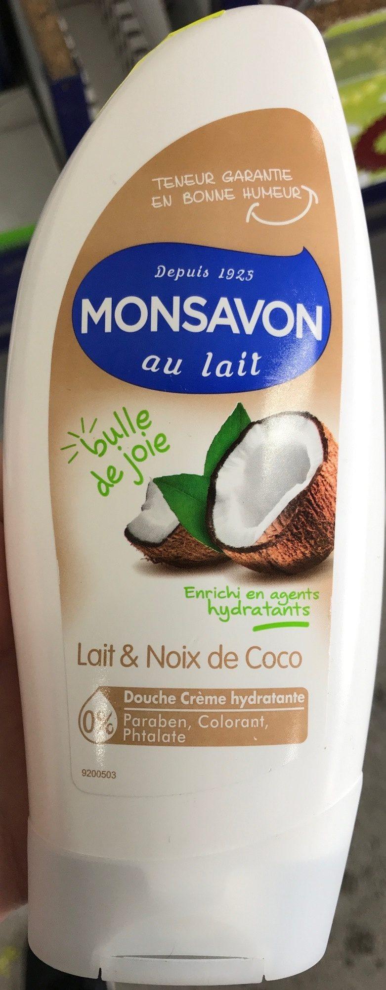 Douche crème hydratante Lait & Noix de Coco - Produit - fr