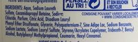 Douche crème hydratante Lait & Noix de Coco - Ingredients - fr