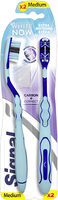 Signal White Now Brosse à Dent Extra Blancheur Medium x2 - Product - fr