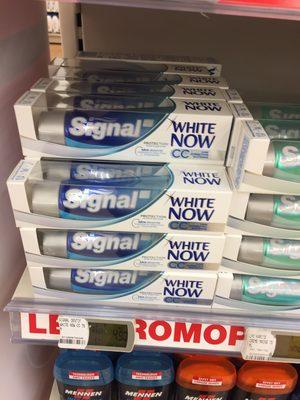 Signal white now - 1