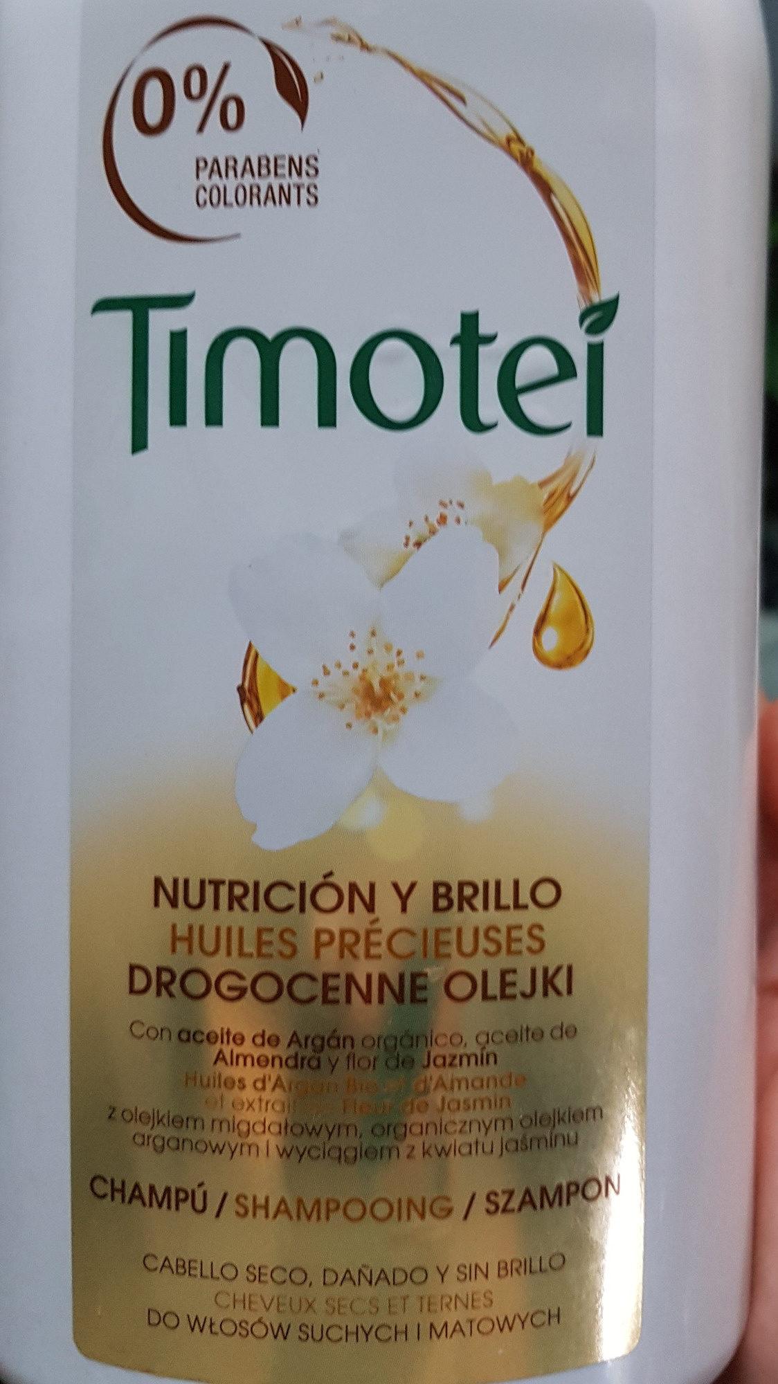 Huiles Précieuses Shampooing - Timotei - Produit