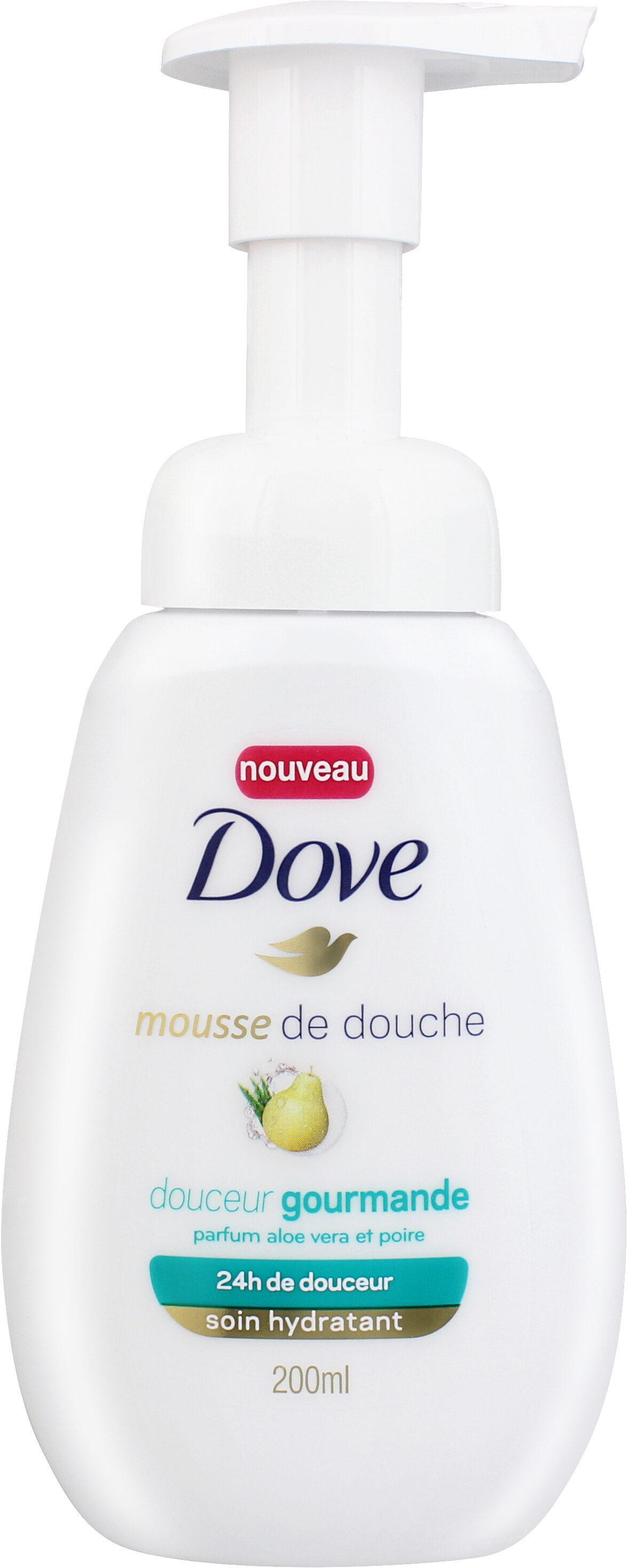Dove Gel Douche Mousse Hydratant Douceur Gourmande Parfum Aloe Vera et Poire - Produit - fr