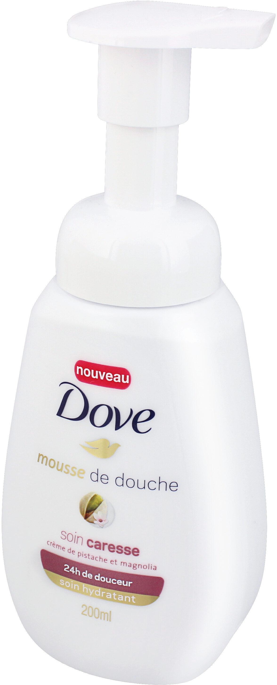 Dove Gel Douche Mousse Soin Caresse - Product - fr