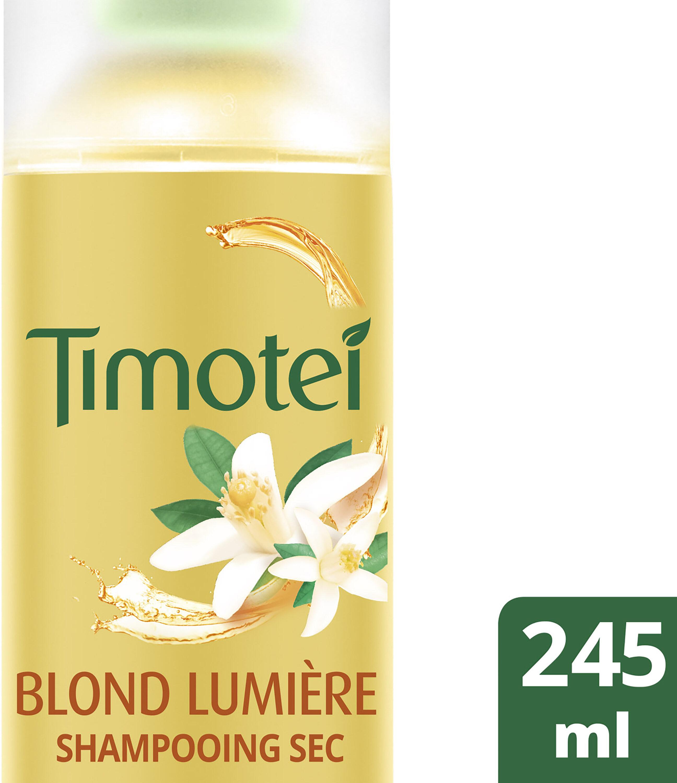 Timotei Blond Lumière Shampoing Sec au Extrait d'Orange Cheveux Blonds - Produit - fr