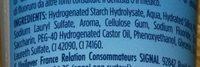 Signal Ice Kick Dentifrice AquaMint - Ingredients - fr