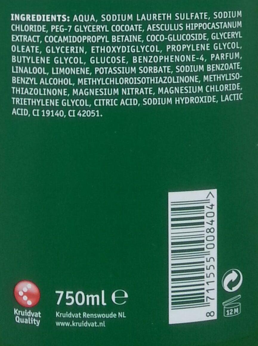 Badschuim - Ingredients - nl