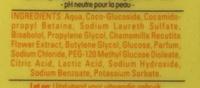 Zeepvrije wasgel - Ingredients - en