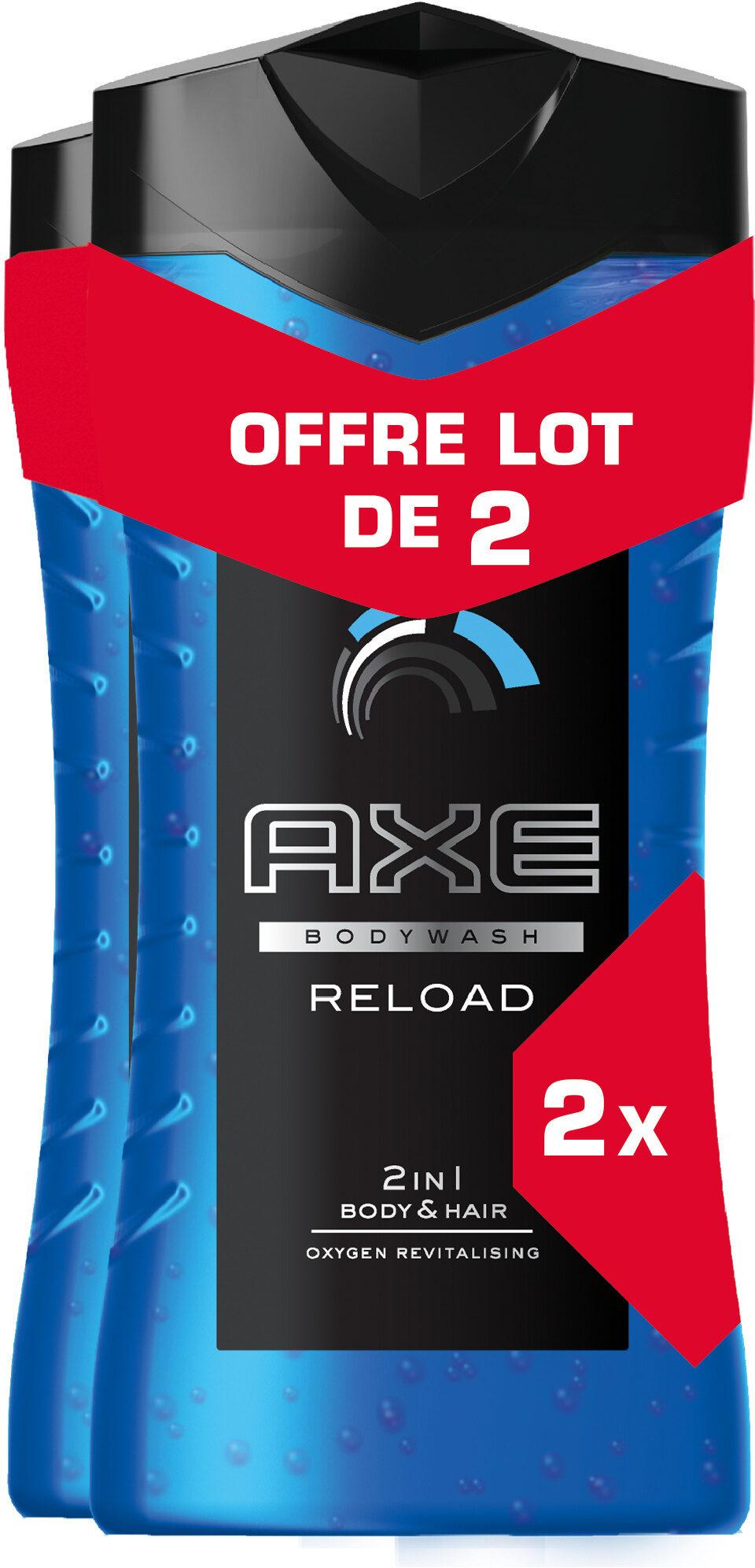 AXE Gel Douche Homme Reload 250ml Lot de 2 - Produit - fr