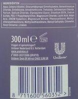 Volume & Care - Ingredients - en