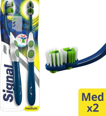 Signal Brosse à Dents Inside Précision Medium Lot de 2 - Product - fr
