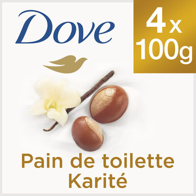 Dove Savon Lavant Antibactérien Beurre de Karité & Vanille - Продукт - fr