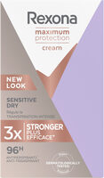 REXONA Stick Anti-Transpirant Maximum Protection Sensitive Dry - Product - fr