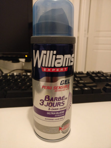 Williams Gel à Raser Barbe de 3 Jours - Product - en
