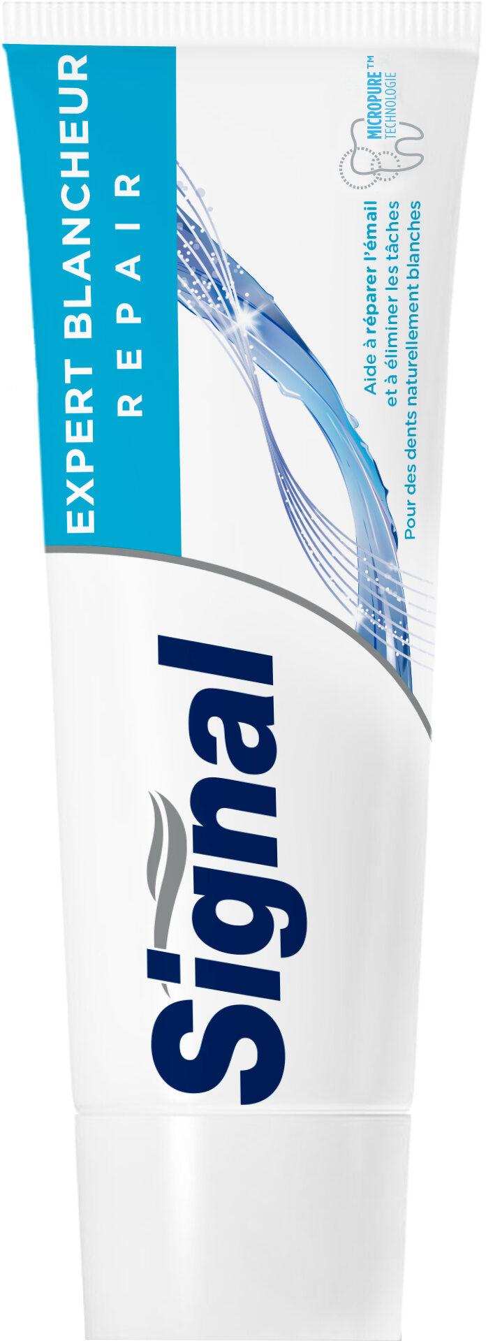 Signal Expert Dentifrice Blancheur Repair Tube - Produit - fr