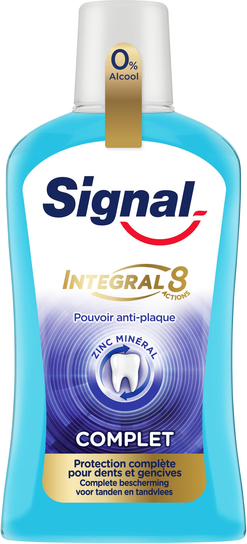 Signal Bain de Bouche Integral 8 Anti-Plaque Antibactérien - Product - fr