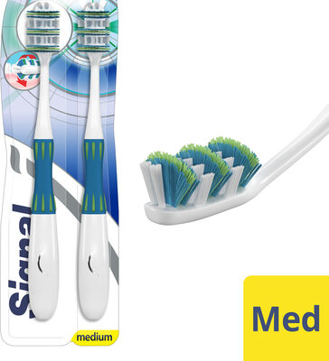 Signal Brosse à Dents Expert Vertical Medium Lot de 2 - Produit - fr