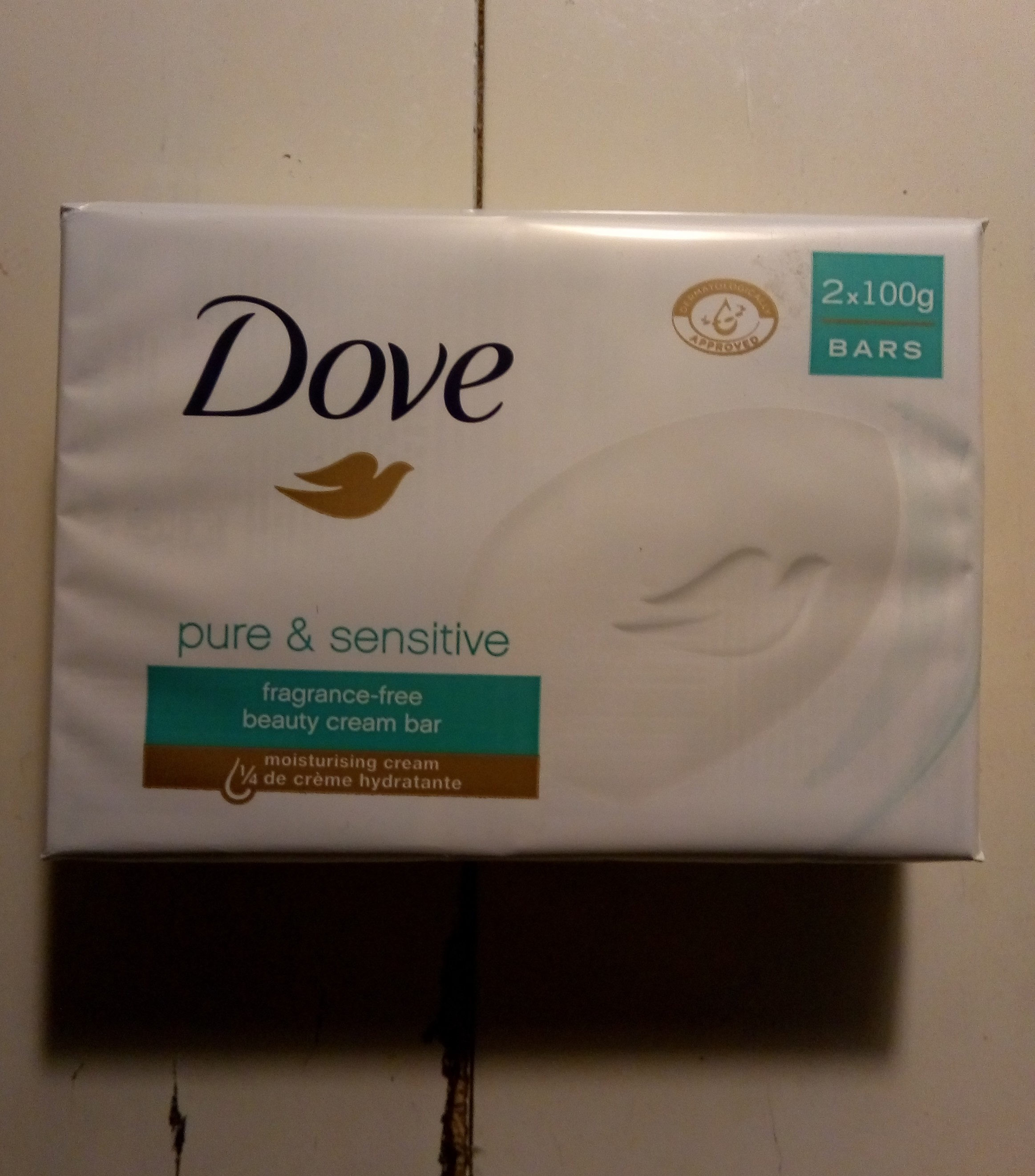 Dove pure & sensitive - Product