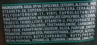 Axe Appolo fixation extrème - Ingredients