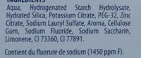 Integral 8 Protection Gencives - Ingredients - fr