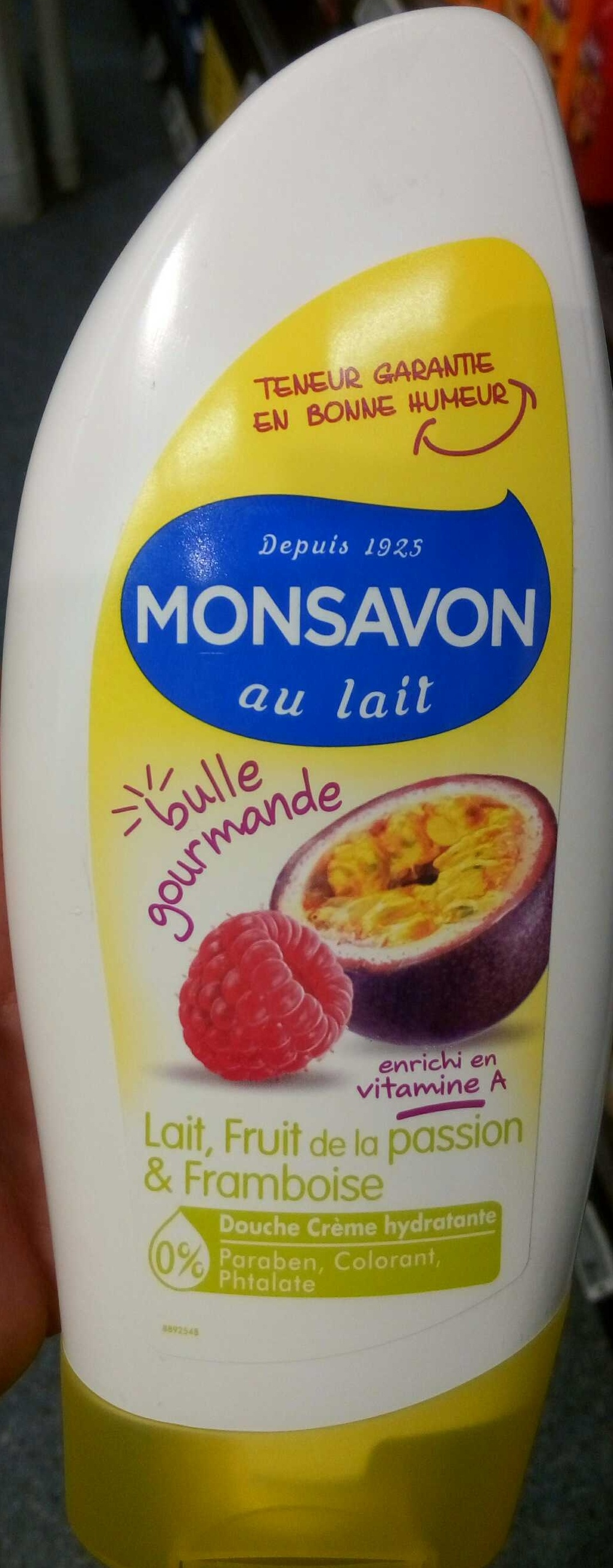Bulle gourmande, Lait, Fruit de la passion & Framboise - Product - fr