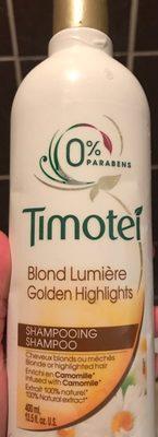 Shampooing Blond Lumière 0% Parabens - Produit