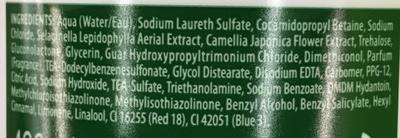 Couleur Eclat - Ingredients