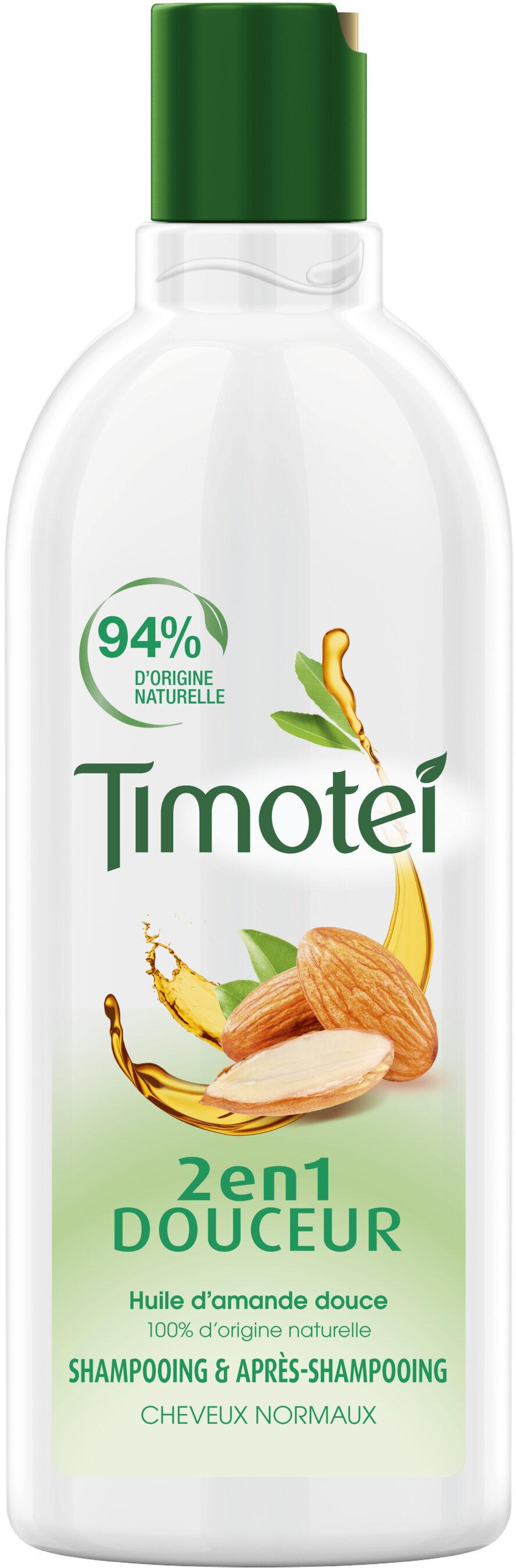 Timotei 2en1 Shampooing Femme Douceur Huille d'Amande Douce Cheveux Normaux - Product - fr
