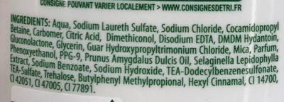 2 en 1 Douceur Shampooing & Après-shampooing - Ingredients