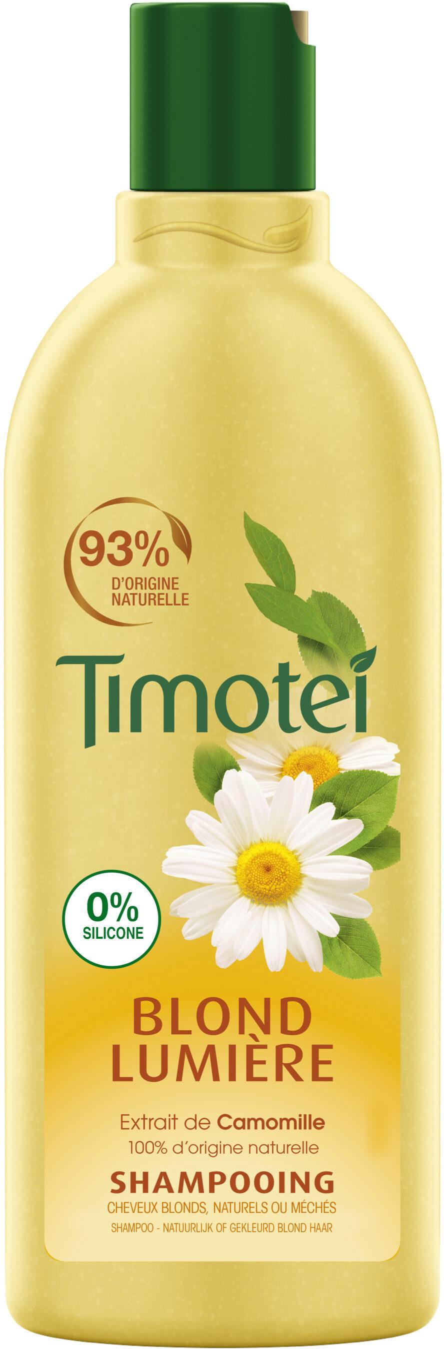 Timotei Blond Lumière Shampoing Femme à l'Extrait de Camomille - Product - fr